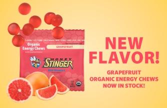 Honey Stinger grapefruit chews